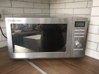 Russell Hobbs 25L, 900W microwave for sale. Only 7 months old in great condition, collection asap!