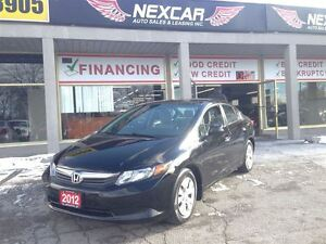 2012 Honda Civic LX AUT0 A/C CRUISE ONLY 107K