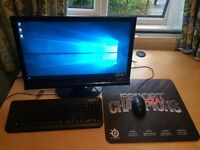 Gaming PC with 3D monitor