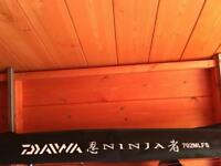 Daiwa ninja 7ft lure rod + Shimano super 4000 reel