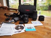 Canon EOS 350D digital camera + Sigma Zoom + carry case