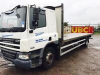 DAF CF65.220 - 26 FOOT FLAT BED 2007 56REG