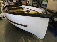 9ft3 grp stem dinghy