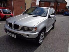 2001 BMW X5 3.0d Sport silver 4x4 suv