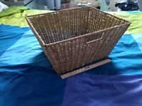 Storage basket woven seagrass rattan box unit
