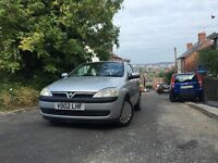 2002 (02) Vauxhall Corsa 1.0i 12v Comfort *LONG MOT* *EXCELLENT CONDITION*