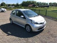 TOYOTA AYGO 2008 AUTOMATIC AIR CON MOT HALF LEATHER DRIVES THE BEST