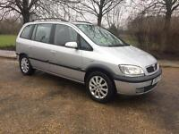 VAUXHALL ZAFIRA ELEGANCE 1.8 2003 7 SEATER ..LONG MOT.. LOOKS AND DRIVES THE BEST