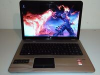 "GAMING HP 17,3"" - PHEANOM II - QUAD CORE - WIN 7 - RADEON - DUAL GPU - 8 GB RAM"