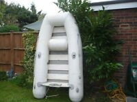 Compass 2.3 mtr inflatable 4horse mariner engine.