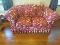Sofa - 2 seater with removable / washable covers