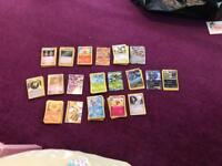 Pokemon Cards with Tin and Book