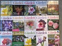 RHS - The Garden Magazine 15 issues 2016-2017