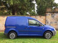 2009 vw caddy van 1 off van phenomenal spec and low miles 4k of extras