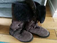 High Lace genuine Ugg Boots size 7