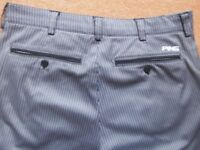PING GOLF TROUSERS W32 - L31.