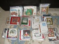 Various Assorted Packs of Christmas Cards in Packs of Forty, New Packaged