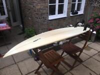 6'6'' custom JP surf board