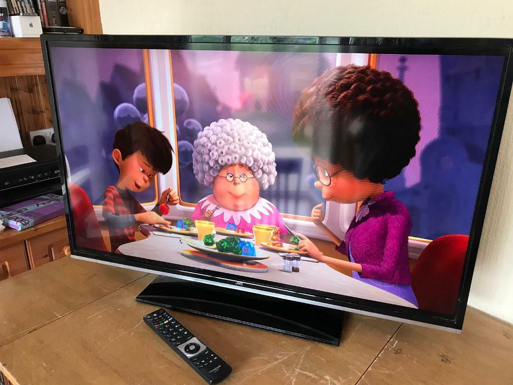"JVC 40"" smart tv built in WIFI Netflix YouTube etc fully working | in  Mickleover, Derbyshire | Gumtree"