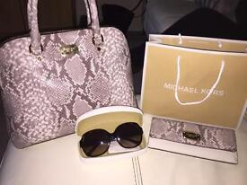 Genuine Michael Kors Hangbag, Purse & Sunglasses