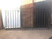 Steel Scroll Driveway Gates