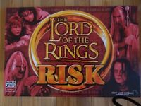 For Sale : The LORD of the RINGS : RISK Board Game.