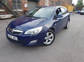 12 plate - vauxha astra J - ecoflex - 1.7 CDTI - one year mot - full service history with stamps
