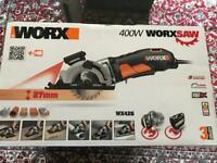 Worx WX426 Mini Circular Worx Saw