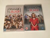 Season one and 2 of Orange is the new black
