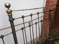 Wrought Iron bedstead