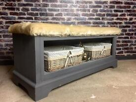 Storage bench / shoe rack / toy box - can deliver