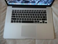 "Macbook Pro 15"" Retina Early 2016 model - immaculate condition"