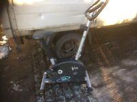 V-FIT FC2-D Exercise bike tensioner , all adjustable .speed , calories , distance etc etc