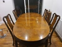 Itlian dining table&chairs