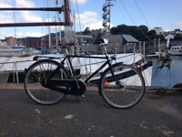 Pashley Roadster 26 Sovereign. Black. 8-Speed Hub gears. One year old. Hardly used.