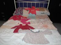 Girls clothing 6 to 12 months - Bin bag full of coats, trousers, tops, cardigans, dresses, vests etc