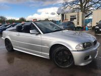 Bmw 318 Ci Convertible/ Cabriolet - Schnitzer Alloys- MOT 31st MARCH 2018 - Full Leather Cheap!! MO