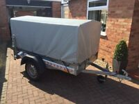 "Trailer 7 x 4 x 3'10"" Single Axle Un-braked"