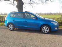 HYUNDAI i30 1.6 TURBO DIESEL ESTATE ,12 MONTHS MOT ,SERVICE HISTORY ,FANTASTIC CONDITION THROUGHOUT