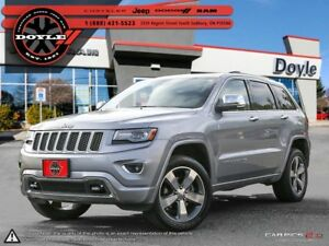 2014 Jeep Grand Cherokee OVERLAND 4WD 1-OWNER TRADE-IN!!!