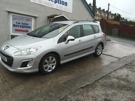 PEUGEOT 308 SR SWE 1.6 HDI ESTATE WITH SAT NAV