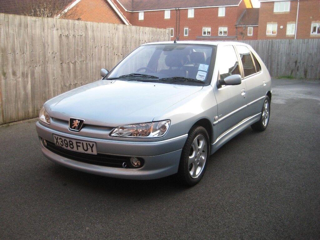 Peugeot 306 1.6 Meridian (A/C) Petrol Five Door Hatchback Year 2000 (