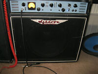 ashdown 500 watt bass combo