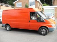 UNWANTED PART X TO CLEAR FORD TRANSIT LONG WHEEL BASE 2.4 DIESEL 90 PS NICE VAN NO VAT