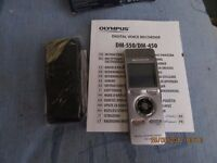 Olympus DM-450 Voice Recorder with case and box for £35.00.