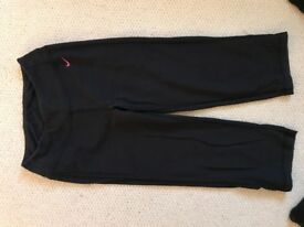 Gym crop trousers size xs