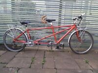 Tandem bicycle - Dawes Discovery Twin