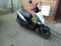 2012 Kymco Agility 125 scooter, long MOT, runs very well, good condition, bargain, not ps sh ,,,,,