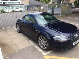 Excellent blue 2003 Mk1 1.8 manual Audi TT 225bhp 108,000 fsh 12months mot herts sg12