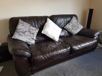 (£100) 2 and 3 seater sofa for sale with free coffee table included (pick up only)
